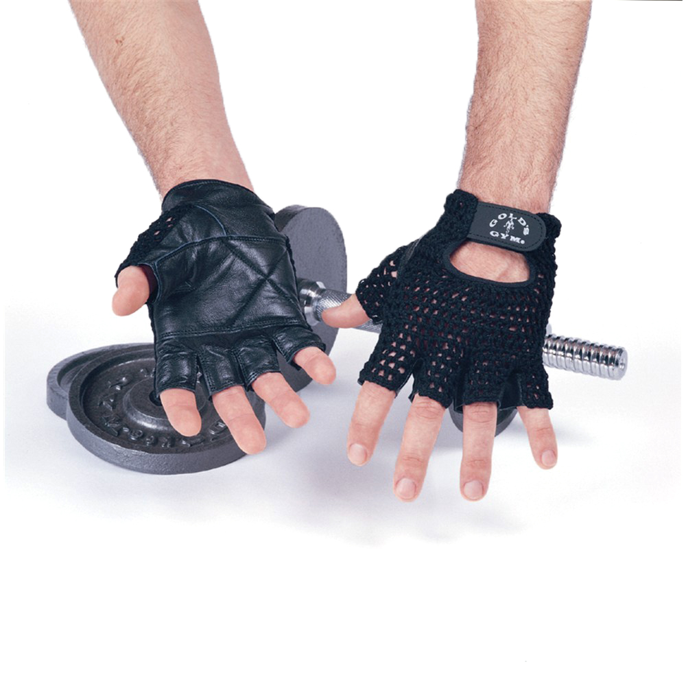 Golds Gym Mesh Back Gloves  S