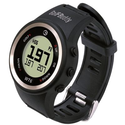 GolfBuddy WT6 GPS Golf Watch - Angled