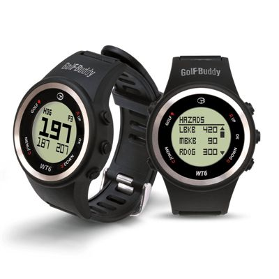 GolfBuddy WT6 GPS Golf Watch - Features