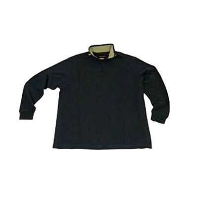 Greg Norman Quarter Zip Ribbed Golf Sweater