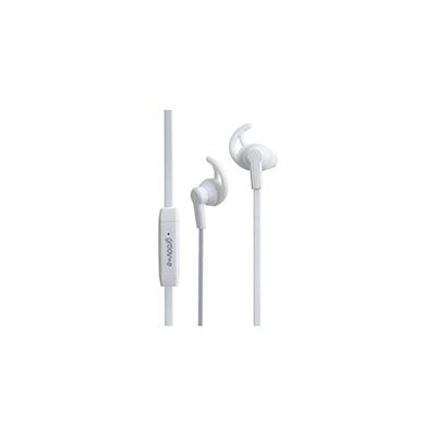 Groov-e Sport Buds Earphones with Remote Microphone-White