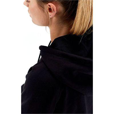Half Human Ladies Zip Hoodie - Hood