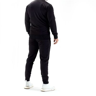 Half Human Mens Poly Tapered Tracksuit Joggers - Model Back
