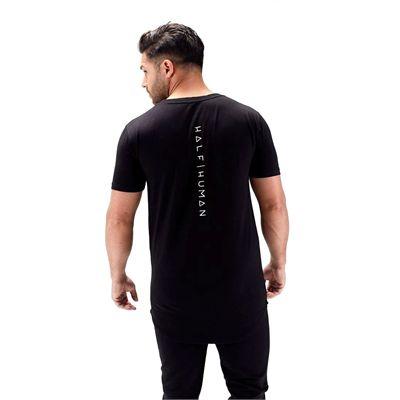 Half Human Mens Scoop Neck T-Shirt - 2