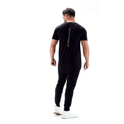 Half Human Mens Scoop Neck T-Shirt - 4
