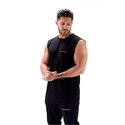 Half Human Mens Sleeveless T-Shirt - 1