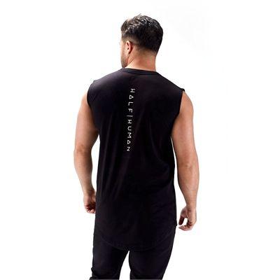 Half Human Mens Sleeveless T-Shirt - 2