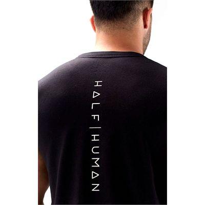 Half Human Mens Sleeveless T-Shirt - 3