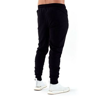 Half Human Mens Tapered Fit Joggers - Back