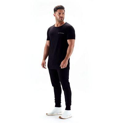 Half Human Mens Tapered Fit Joggers - Model