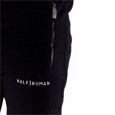 Half Human Mens Tapered Fit Joggers - Zoom