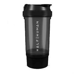 Half Human 500ml Protein Shaker Bottle