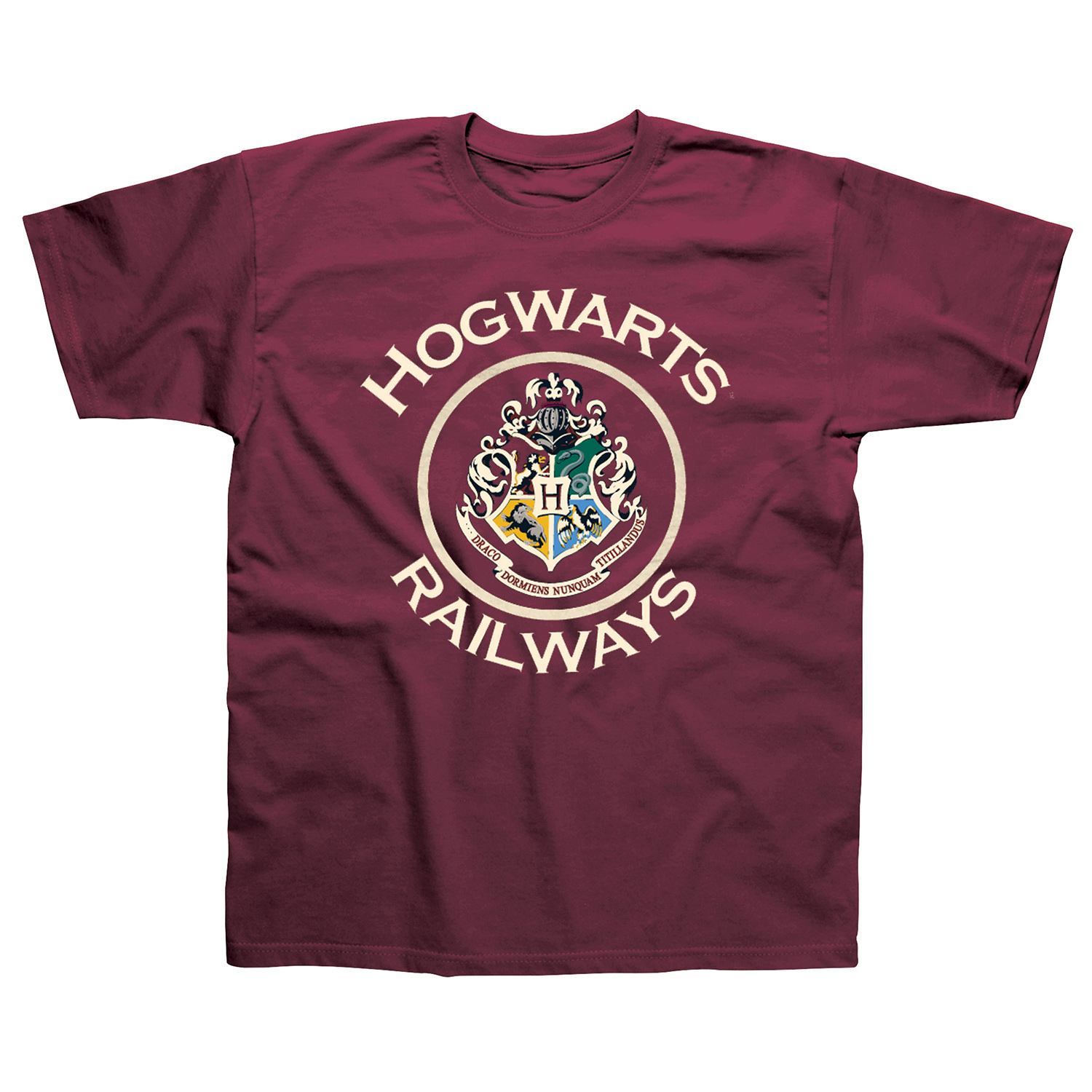 Harry Potter Hogwarts Railway TShirt  L
