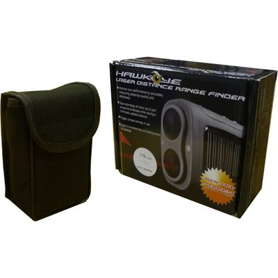Hawkeye Solar Power Laser Distance Finder Box