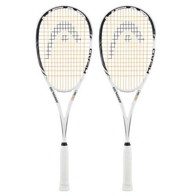 Head Argon2 155 Squash Racket Double Pack