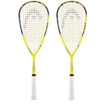 Head Cyano2 115 Squash Racket Double Pack