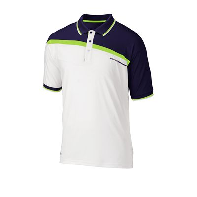 Head Filippo Polo Shirt White Navy Lime