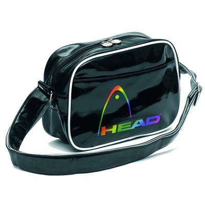 HEAD Fusion Shoulder Bag Black White