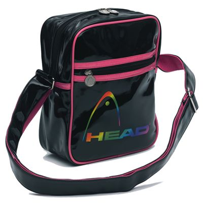HEAD Fusion Small Shoulder Bag Black Electric