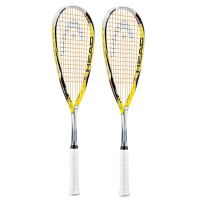 Head Microgel 115 CT Squash Racket Double Pack
