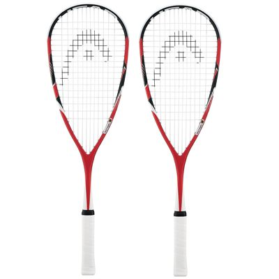 Head MicroGel Heat Squash Racket Double Pack