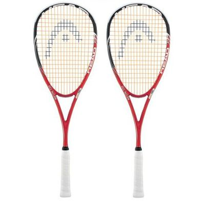 Head Neon 130 Squash Racket Double Pack