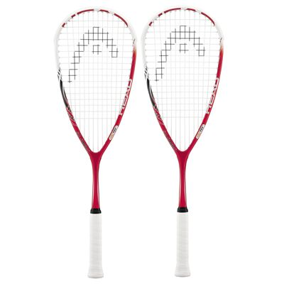 Head YouTek Cyano 115 Squash Racket Double Pack