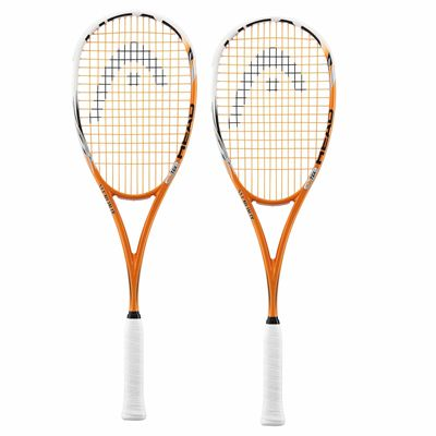 Head YouTek Xenon 135 Squash Racket Double Pack