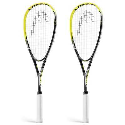 Head AFT Blast 2.0 Squash Racket Double Pack