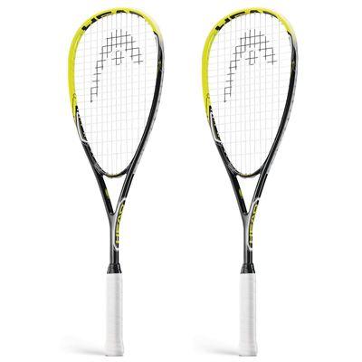 Head AFT Blast 2.0 Squash Racket Double Pack