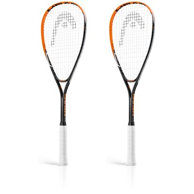 Head AFT Cyber 2.0 Squash Racket Double Pack