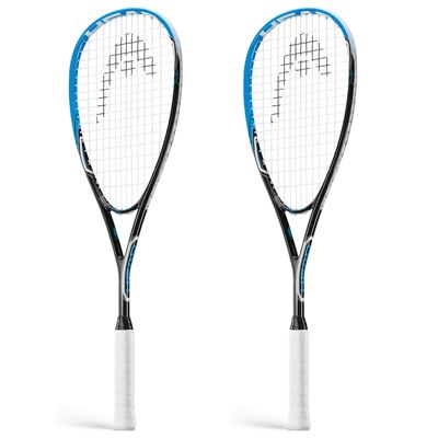Head AFT Flash 2.0 Squash Racket Double Pack