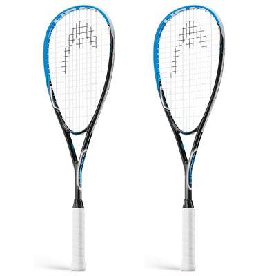 Head AFT Flash 2.0 Squash Racket Double Pack