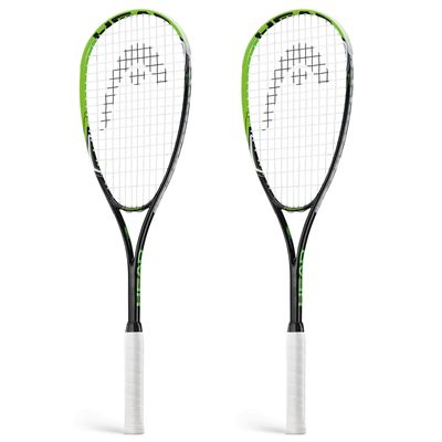 Head AFT Supreme 2.0 Squash Racket Double Pack