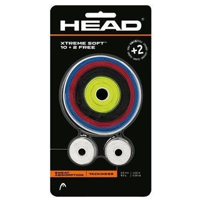 Head Assorted Colour XtremeSoft Grips