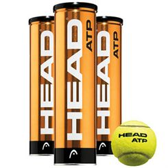 Head ATP Tour Golden Balls - 12 Dozen