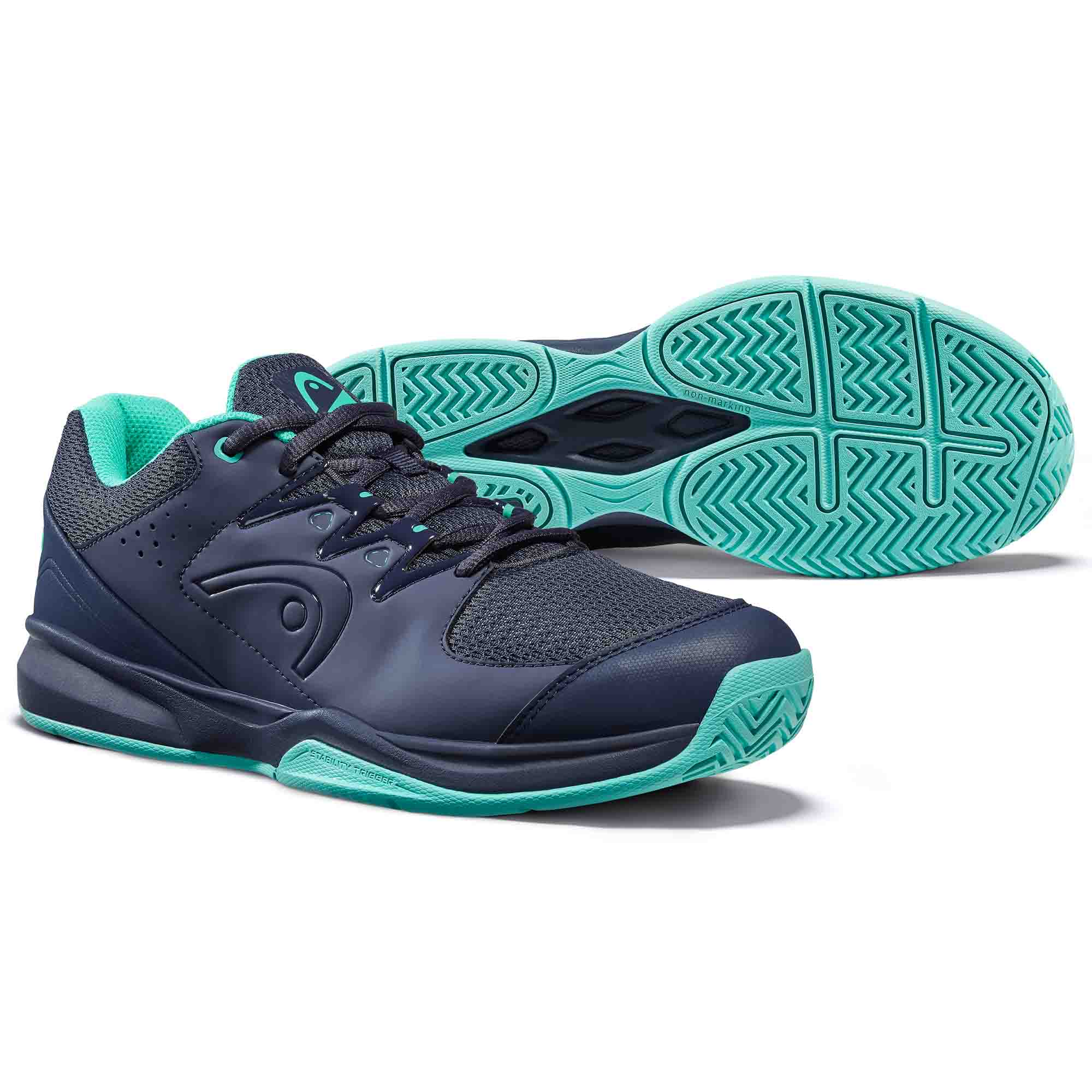 Head Brazer 2.0 Ladies Tennis Shoes - Blue, 6.5 UK