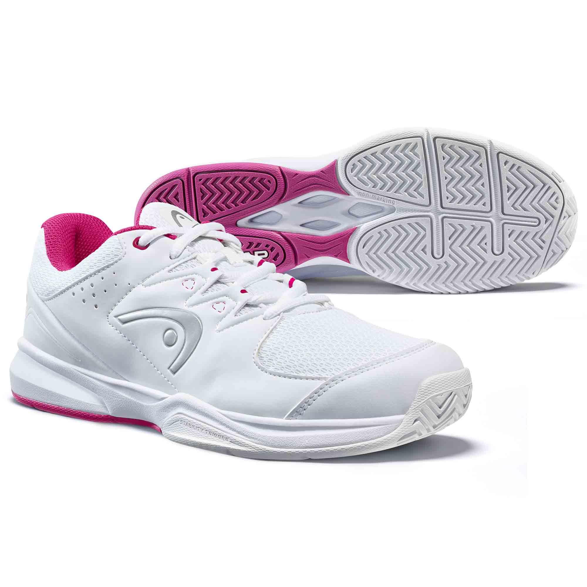 Head Brazer 2.0 Ladies Tennis Shoes - White/Violet, 5.5 UK