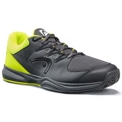 Head Brazer 2.0 Mens Tennis Shoes -  GreyYellow - Angled