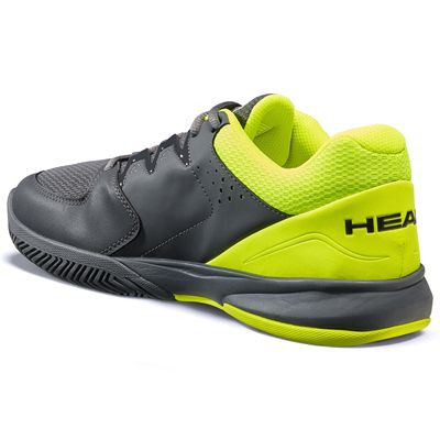 Head Brazer 2.0 Mens Tennis Shoes -  GreyYellow - Slant