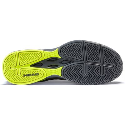 Head Brazer 2.0 Mens Tennis Shoes -  GreyYellow - Sole
