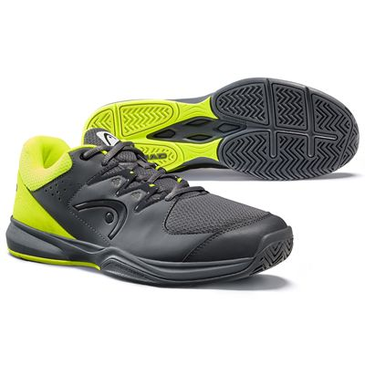 Head Brazer 2.0 Mens Tennis Shoes -  GreyYellow