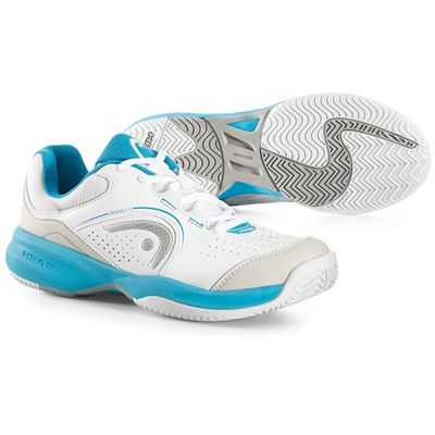 Head Breeze 2.0 Ladies Tennis Shoes-White and Blue