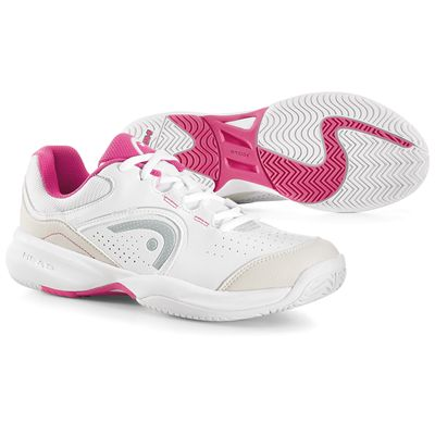 Head Breeze 2.0 Ladies Tennis Shoes-White and Pink