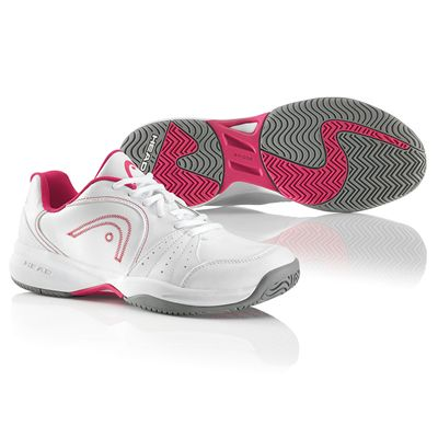 Head Breeze Ladies Tennis Shoes White Pink