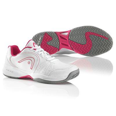 Head Breeze Ladies Tennis Shoes White Pink
