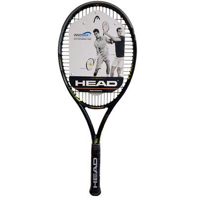 Head Challenge Pro Tennis Racket - Side - Front