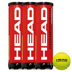 Head Championship Tennis Balls - 1 dozen