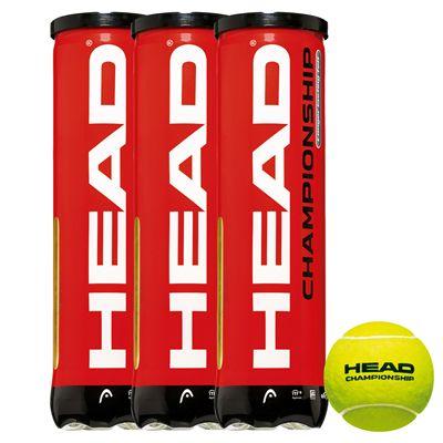 Head Championship Tennis Balls 1 dozen