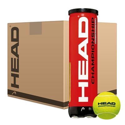 Head Championship Tennis Balls (6 dozen)